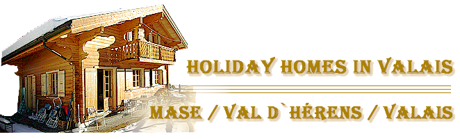 Holiday homes in Valais